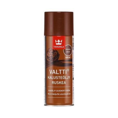 Tikkurila Valtti Kalusteöljy Ruskea Spray (0,4l)