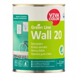 Vivacolor Green Line WALL 20 (0,9l)