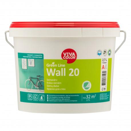 Vivacolor Green Line WALL 20 (2,7l)