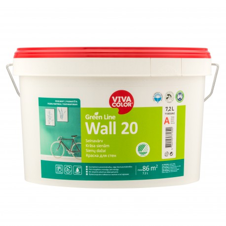 Vivacolor Green Line WALL 20 (7,2l)