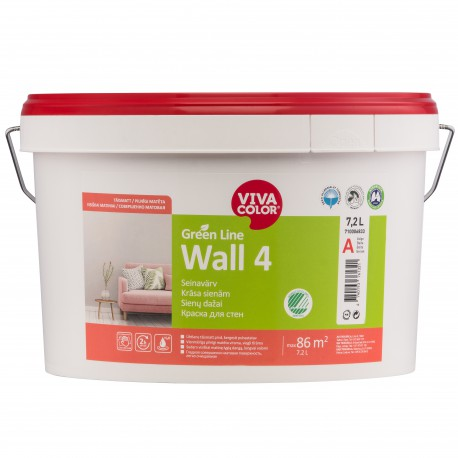 Vivacolor Green Line WALL 4 (7,2l)