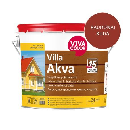 Vivacolor Villa Akva (raudonai ruda, 2,7l)