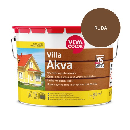 Vivacolor Villa Akva (ruda, 9l)