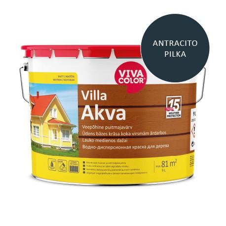 Vivacolor Villa Akva (antracito pilka, 9l)