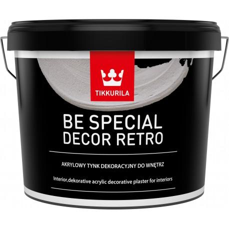 Dekoratyvinis tinkas BE SPECIAL DÉCOR RETRO