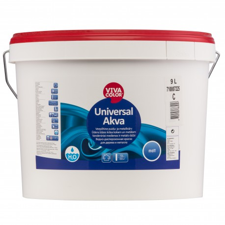 Vivacolor Universal Akva, matiniai (9l)