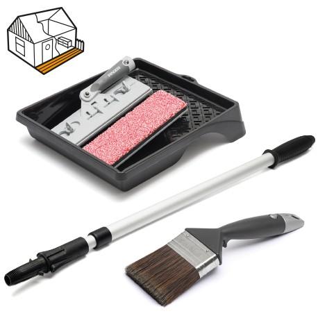 Terasų aliejavimo įrankių rinkinys ANZA